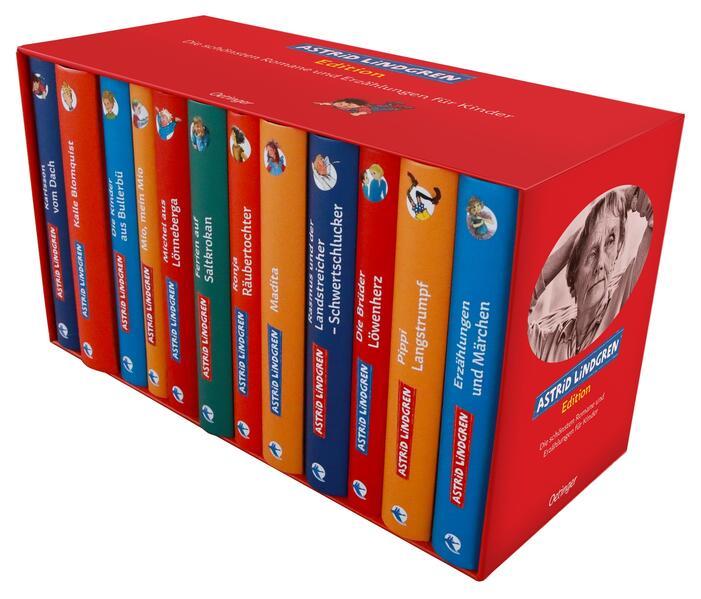 Astrid-Lindgren-Edition. Die schönsten Romane und Erzählungen für Kinder als Buch von Astrid Lindgren