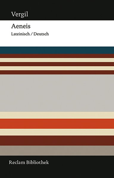 Aeneis als Buch von Vergil
