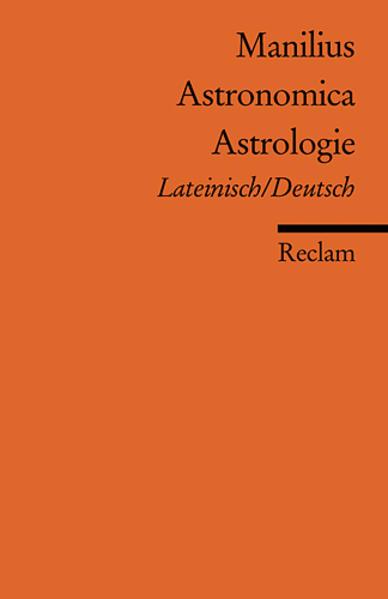 Astronomica /Astrologie als Taschenbuch von Marcus Manilius