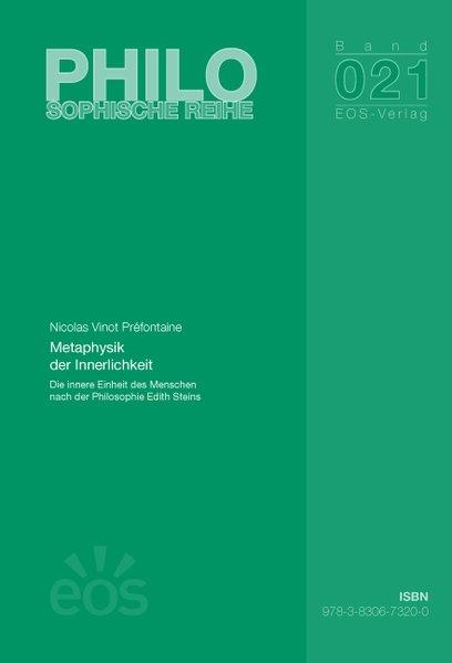 Metaphysik der Innerlichkeit als Buch von Nicolas V. Préfontaine