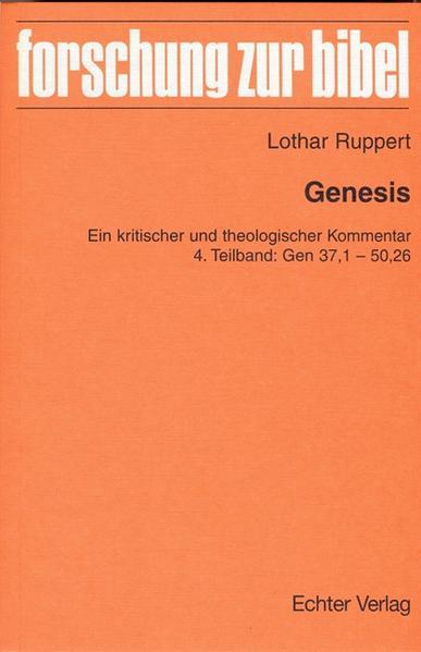 Genesis als Buch von Lothar Ruppert