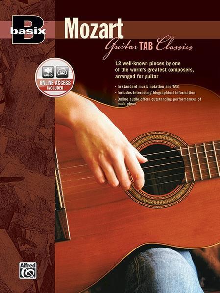 Basix Mozart Guitar Tab Classics: Book & CD als Taschenbuch von Wolfgang Mozart
