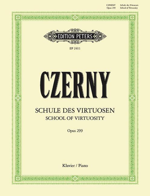 Schule der Geläufigkeit op. 299 als Buch von Carl Czerny