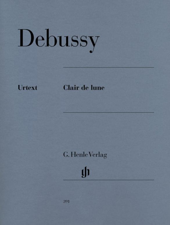 Clair de lune als Buch von Claude Debussy