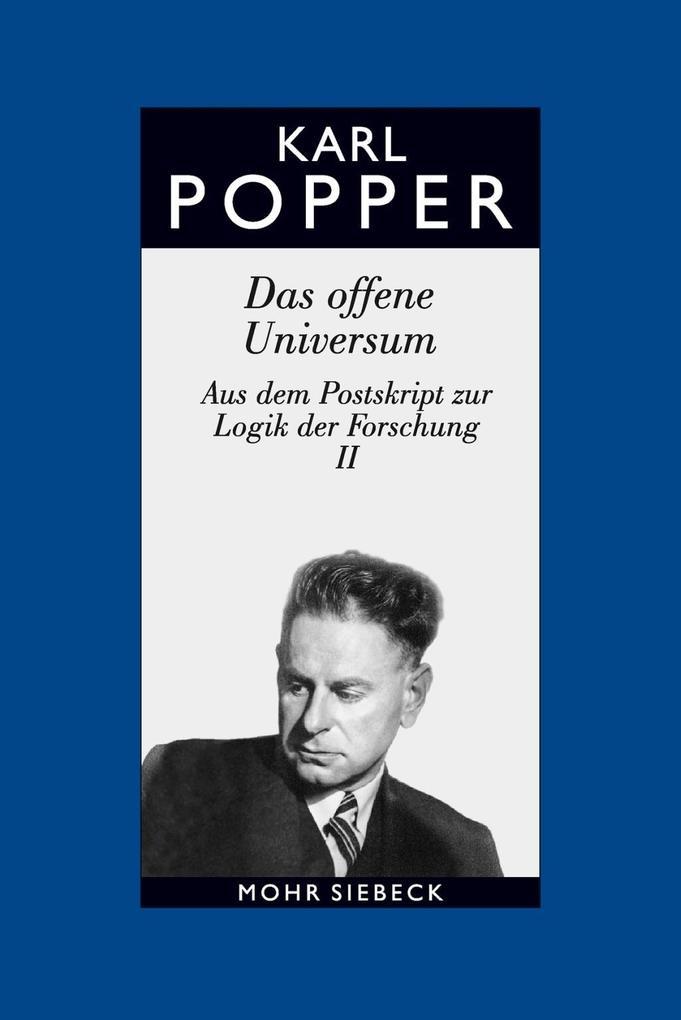 Gesammelte Werke als Buch von Karl R. Popper, William W. Bartley