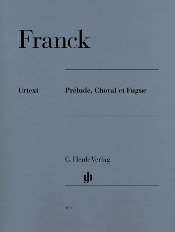 Prélude, Choral et Fugue als Buch von César Franck