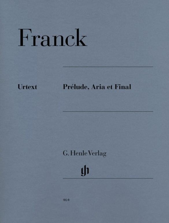 Prélude, Aria et Final als Buch von César Franck