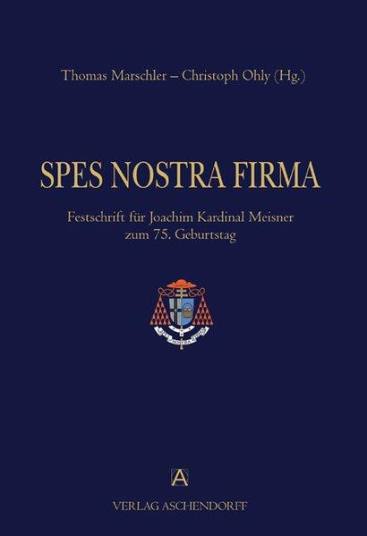Spes Nostra Firma als Buch von