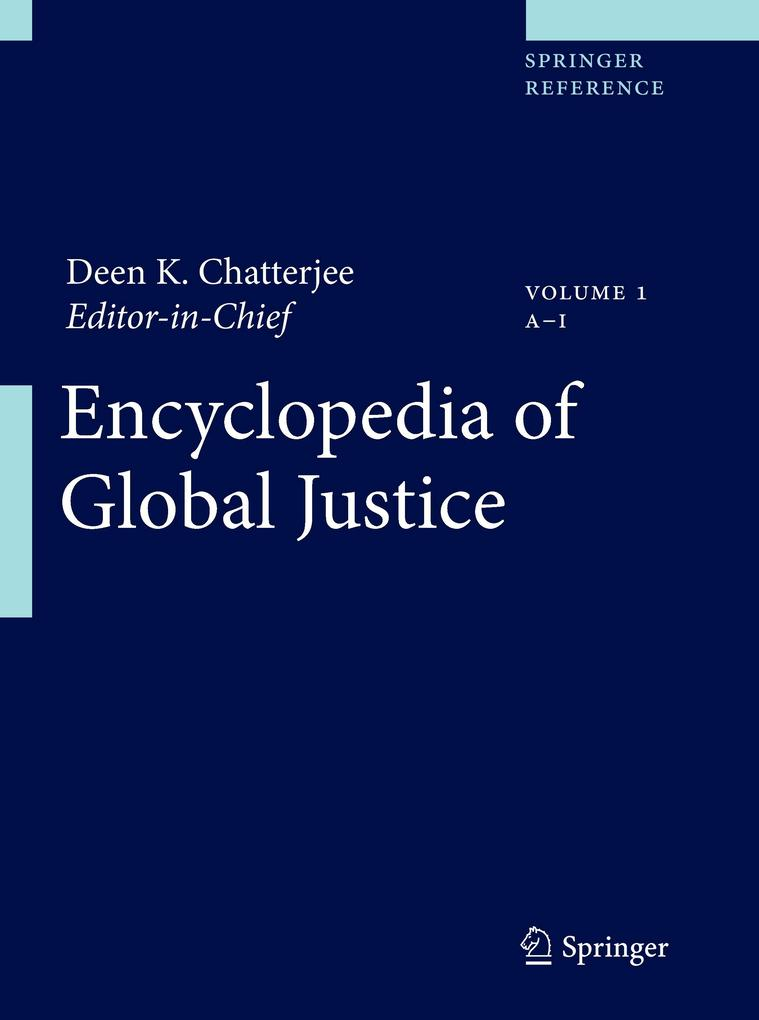 Encyclopedia of Global Justice 2 Bände als Buch von