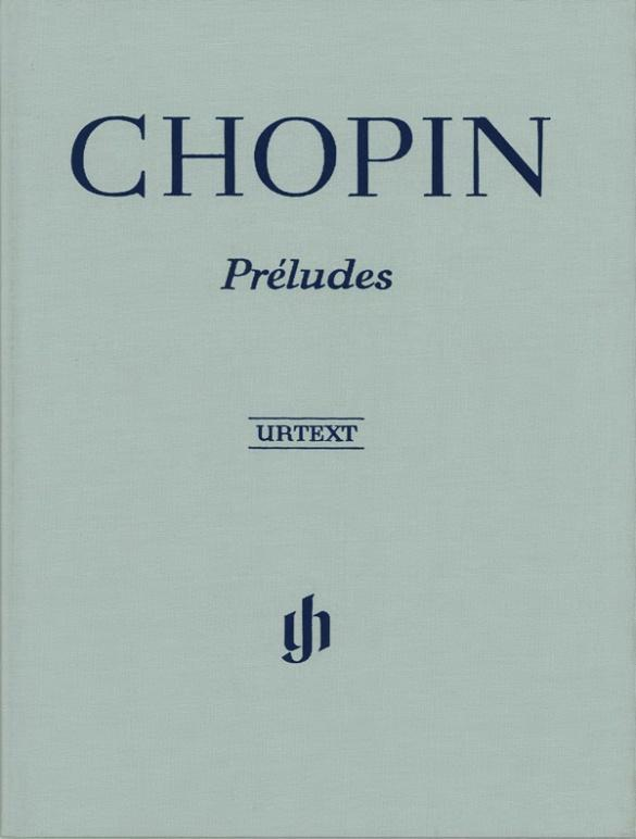 Préludes als Buch von Frédéric Chopin