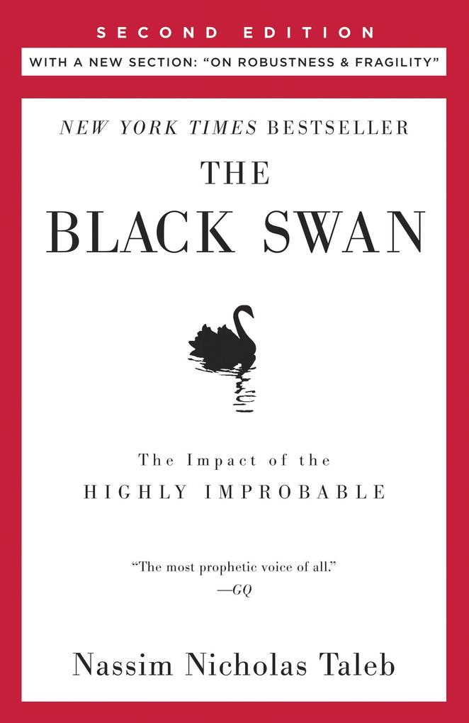 The Black Swan als Taschenbuch von Nassim Nicholas Taleb