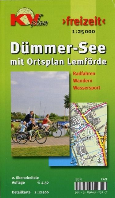 Dümmer See mit Ortsplan Lemförde 1 : 25 000 als...