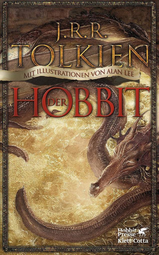 Der Hobbit als Buch von John R Tolkien