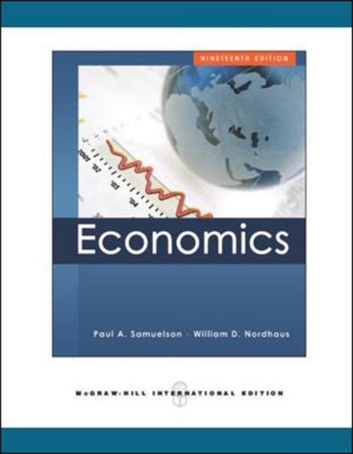 Economics als Buch von Paul Anthony Samuelson, William D. Nordhaus