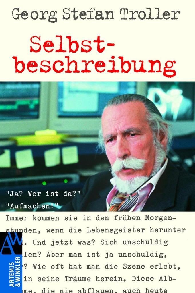 Selbstbeschreibung als Buch von Georg Stefan Troller