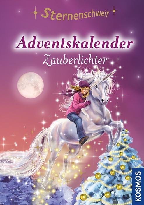 Sternenschweif Adventskalender, Zauberlichter als Buch von Linda Chapman