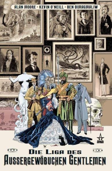 Die Liga der aussergewöhnlichen Gentlemen 01 als Buch von Alan Moore, Kevin O'Neill