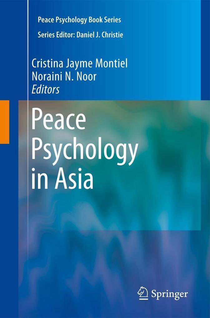 Peace Psychology in Asia als Buch von