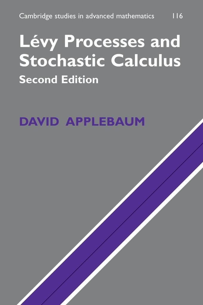 Levy Processes and Stochastic Calculus als Buch von David Applebaum