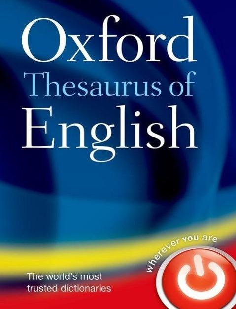 The Oxford Thesaurus of English als Buch von
