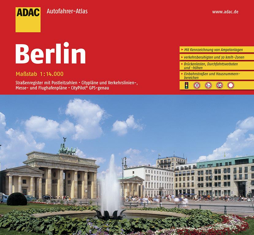 ADAC AutofahrerAtlas Berlin 1:14 000 als Buch von