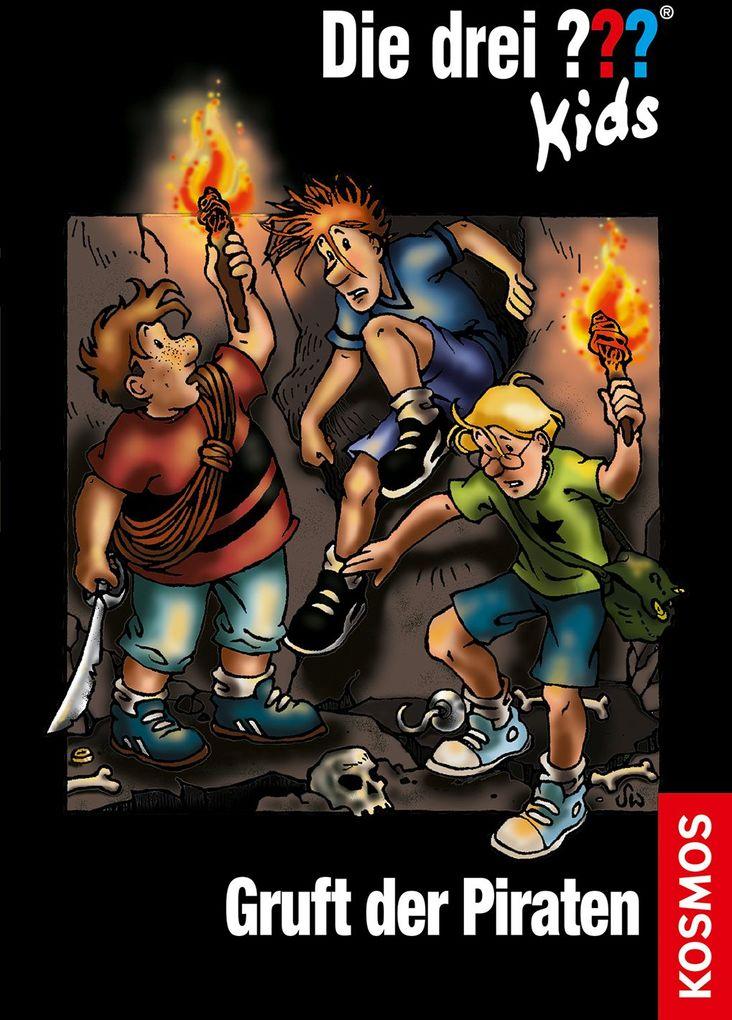 Die drei ??? Kids 07. Gruft der Piraten (drei Fragezeichen) als Buch von Ulf Blanck