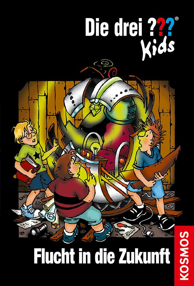 Die drei ??? Kids 05. Flucht in die Zukunft (drei Fragezeichen) als Buch von Ulf Blanck
