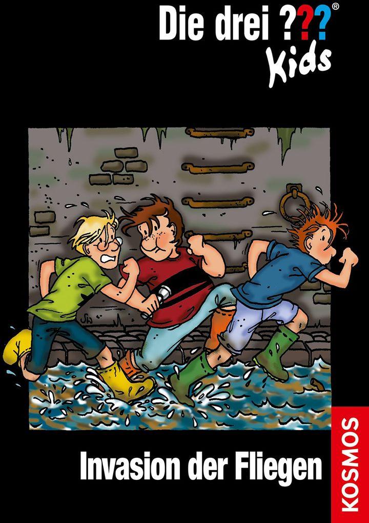 Die drei ??? Kids 03. Invasion der Fliegen (drei Fragezeichen) als Buch von Ulf Blanck