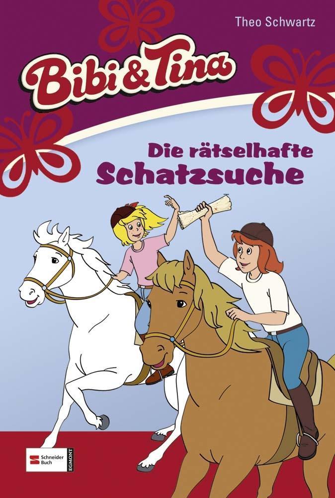 Bibi und Tina 39. Die rätselhafte Schatzsuche als Buch von Theo Schwartz, Ulf Tiehm
