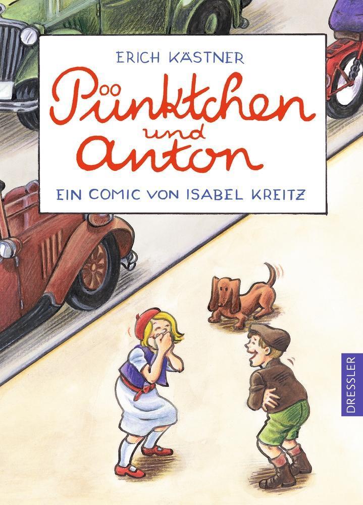 Pünktchen und Anton. Ein Comic als Buch von Erich Kästner, Isabel Kreitz
