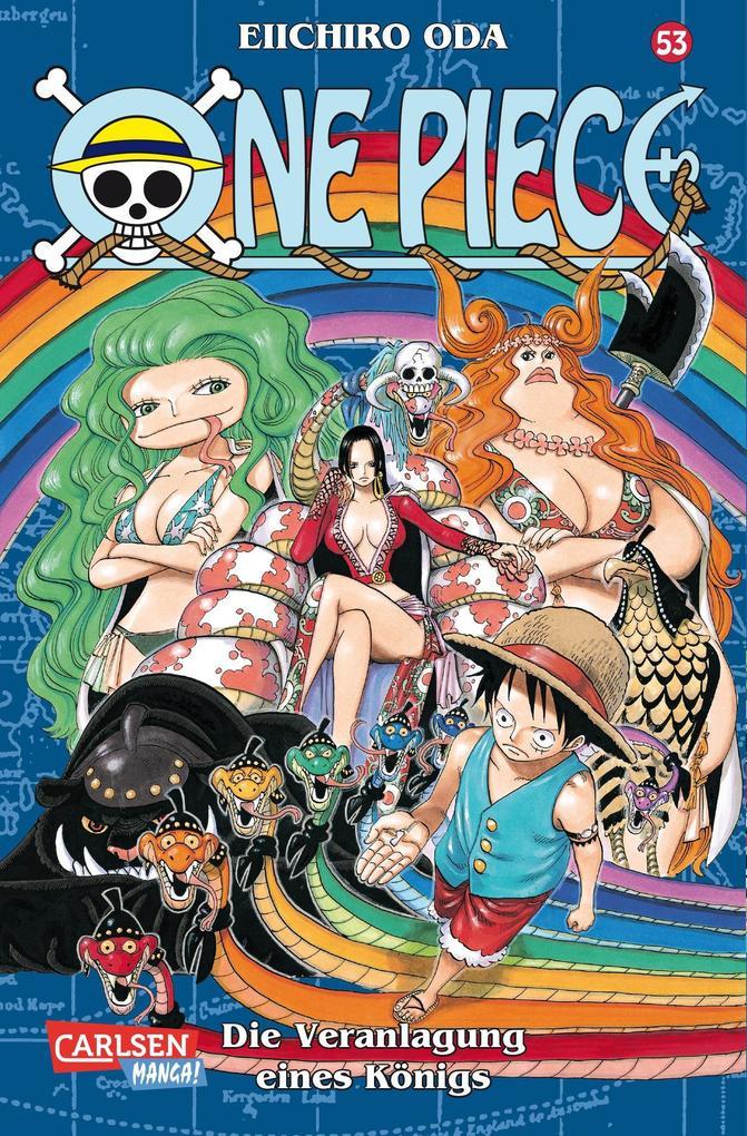 One Piece 53. Die Veranlagung eines Königs als Buch von Eiichiro Oda