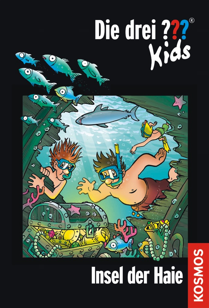 Die drei ??? Kids 41 . Insel der Haie (drei Fragezeichen) als Buch von