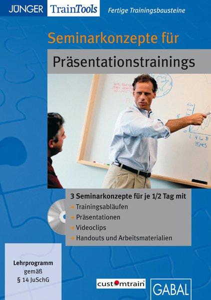Seminarkonzepte für Präsentationstrainings als Software von Frank Gellert, Heike Mössinger
