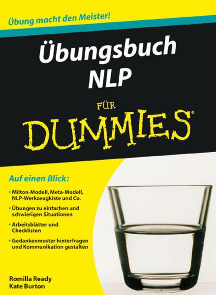 Übungsbuch NLP für Dummies als Buch von Romilla Ready