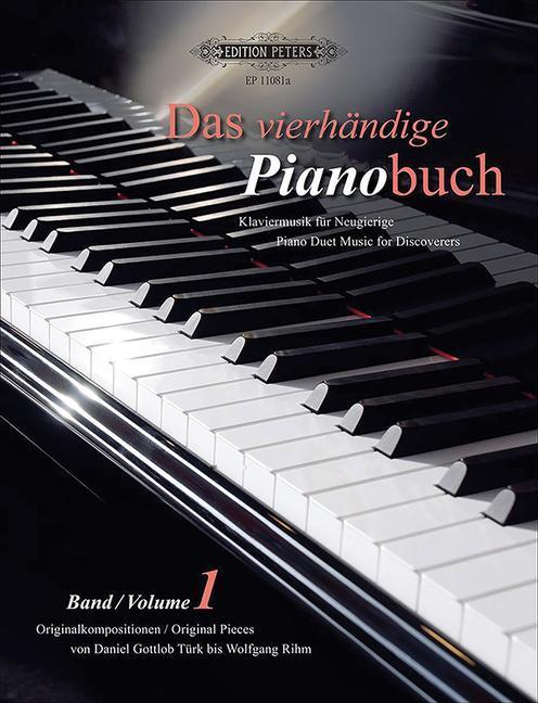 Das vierhändige Pianobuch - Band 1 als Buch von