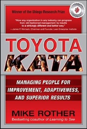 Toyota Kata als Buch von Mike Rother