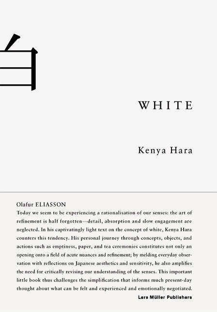 White als Buch von Kenya Hara