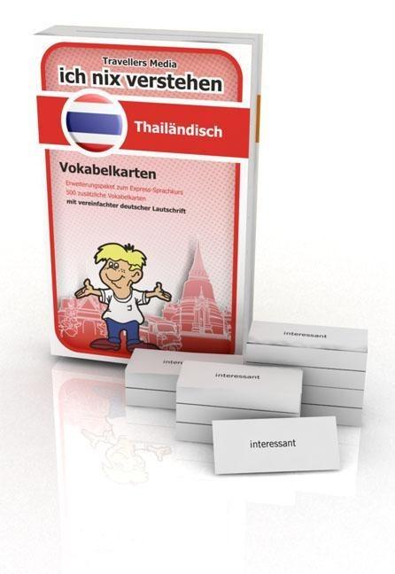 Thailändisch Eweiterungspaket Vokabelkarten. Ic...