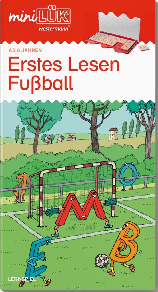 miniLÜK. Fußball Erstes Lesen als Buch von Christiane Wagner