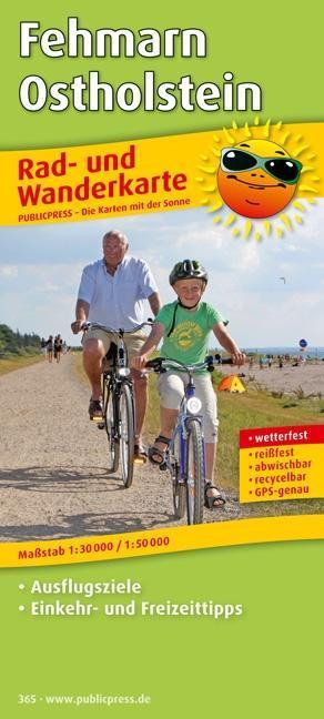 Rad- und Wanderkarte Fehmarn - Ostholstein 1 : ...