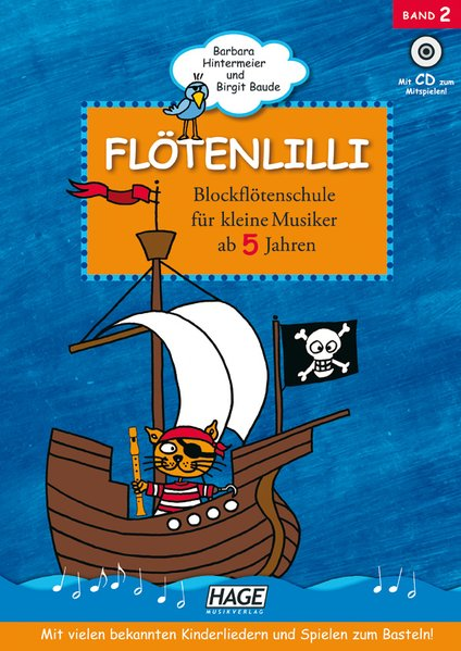 Flötenlilli 2 mit CD als Buch von Barbara Hintermeier, Birgit Baude