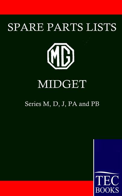 MG MIDGET Spare Parts Lists als Buch von