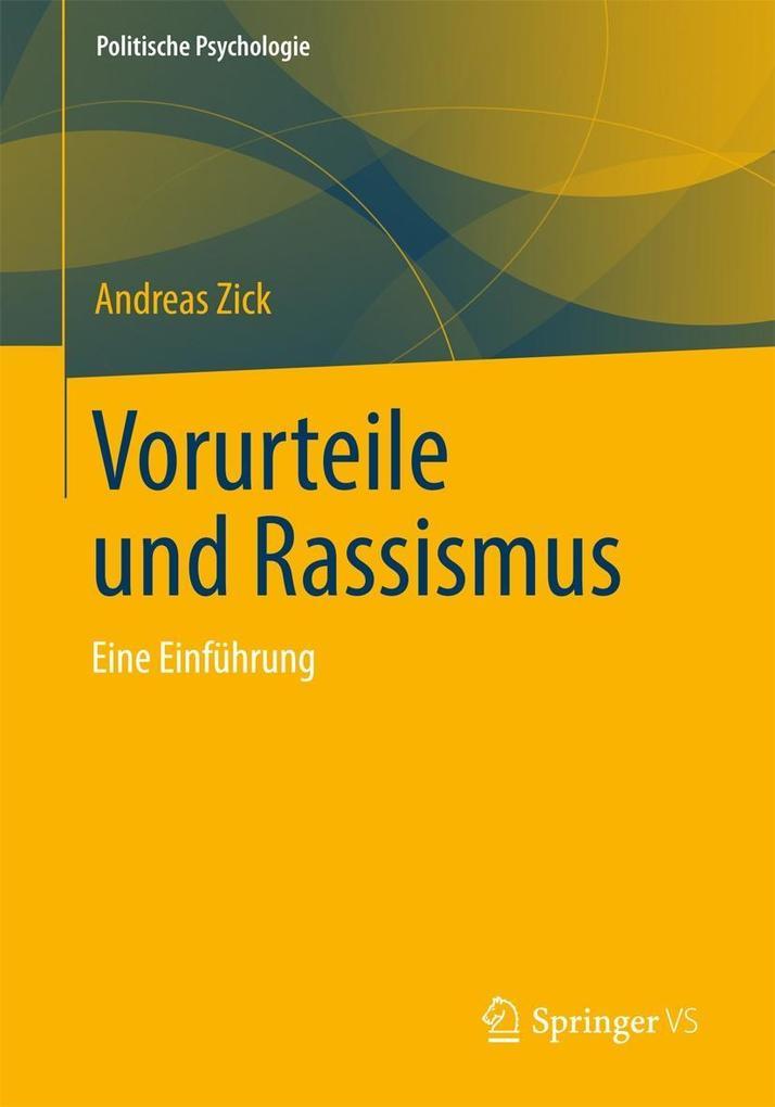 Vorurteile und Rassismus als Buch von Andreas Zick