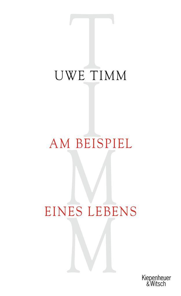 Am Beispiel eines Lebens als Buch von Uwe Timm