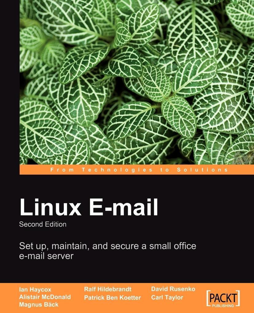 Linux Email als Taschenbuch von Alistair McDonald