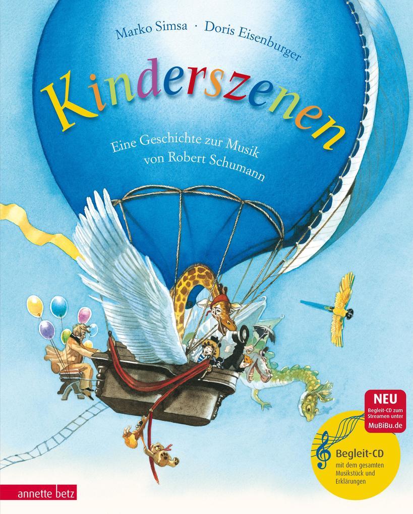 Kinderszenen als Buch von Marko Simsa