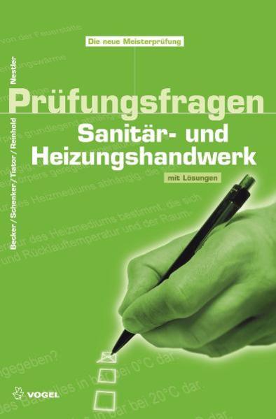 Prüfungsfragen Sanitär- und Heizungshandwerk als Buch von