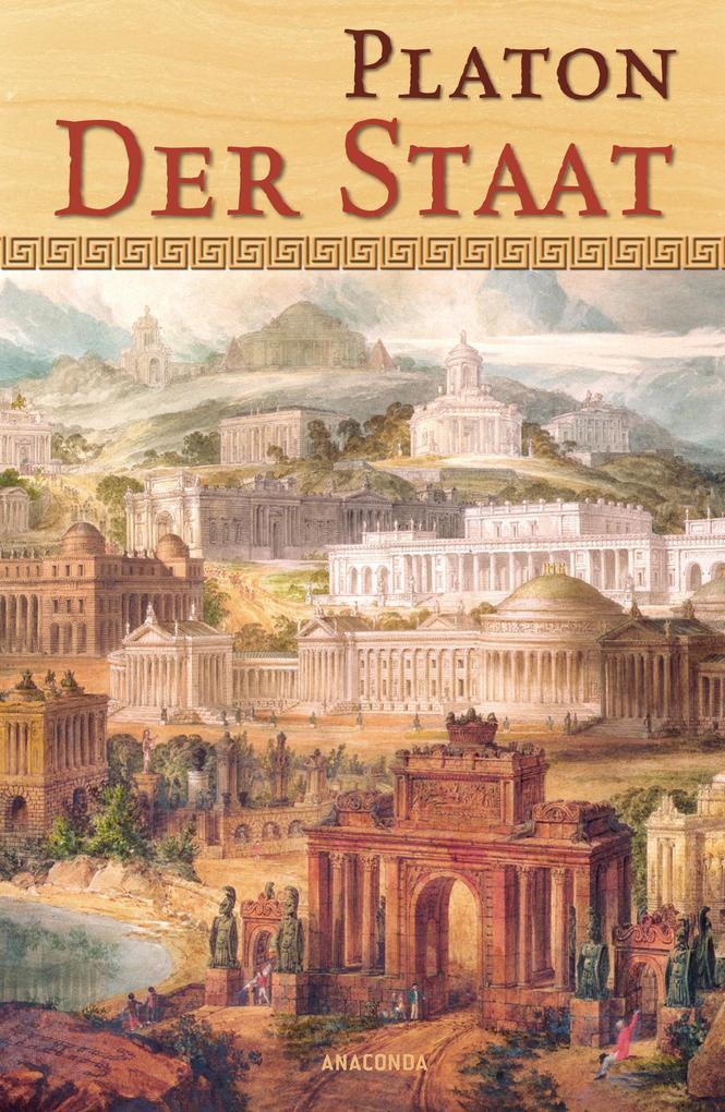 Der Staat als Buch von Platon