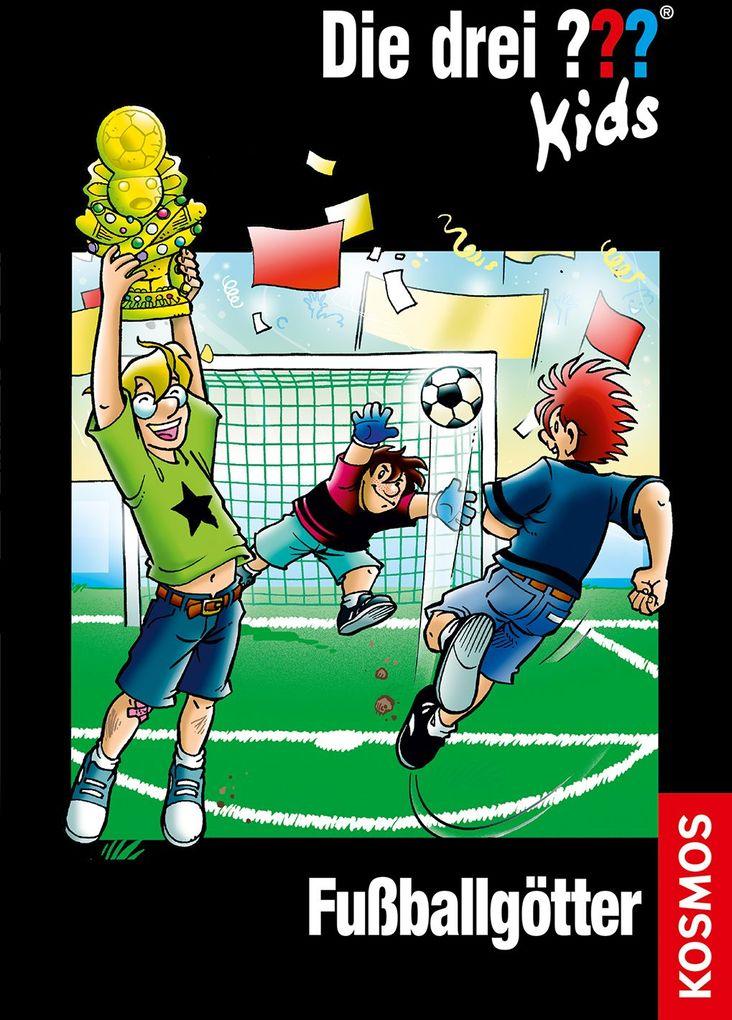 Die drei ??? Kids 42. Fußballgötter (drei Fragezeichen) als Buch von Boris Pfeiffer