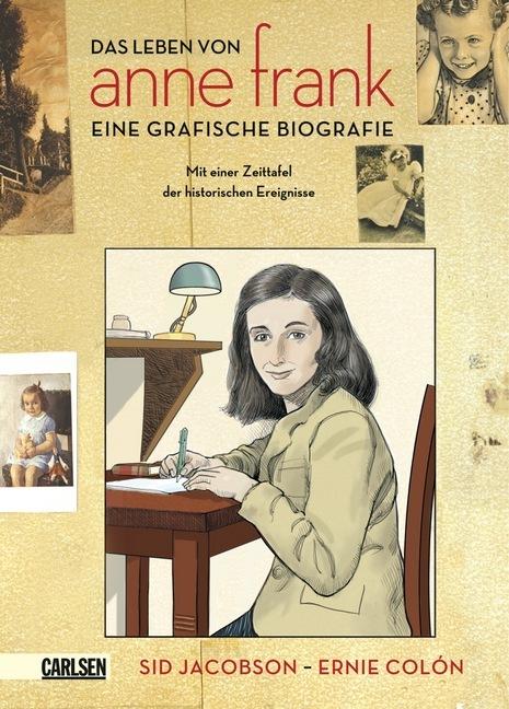 Anne Frank als Buch von Sid Jacobson, Ernie Colon